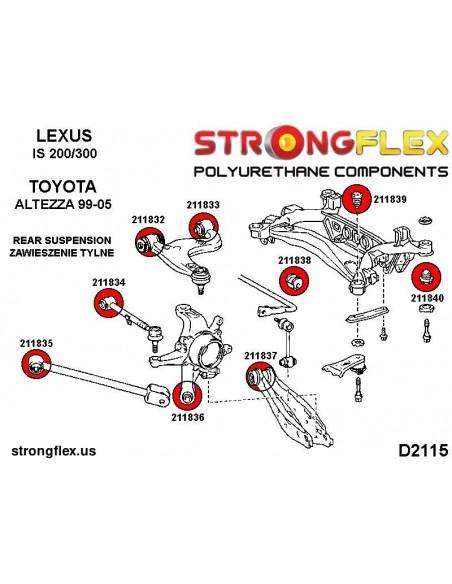 031173A: Rear trailing arm front bush SPORT