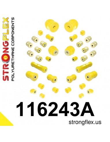 116243A: Full suspension bush kit SPORT
