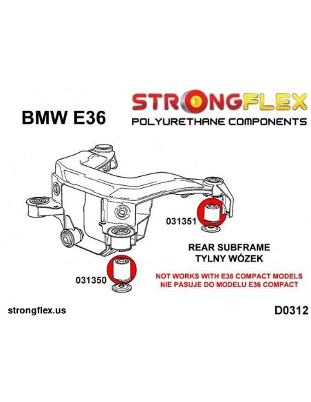 031336A: Rear beam mounting bush SPORT