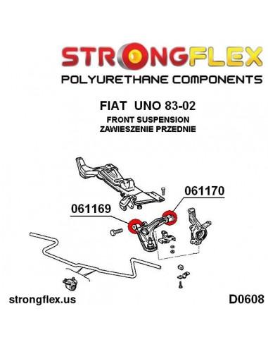 156079A: Front suspension bush kit SPORT