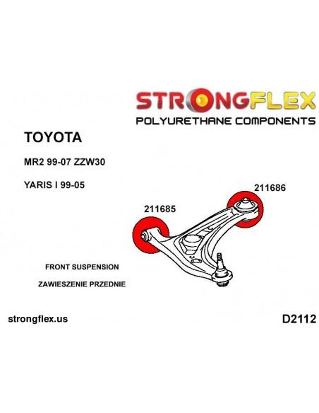 156079B: Front suspension bush kit