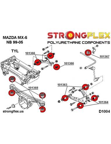251037A: Podkładka do wózka przedniego pod śruby główne, dół