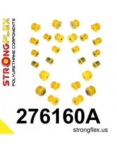 276160A: Full suspension bush kit SPORT