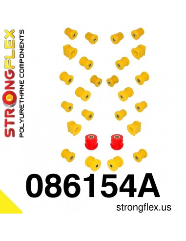 086154A: Full suspension bush kit SPORT AP2