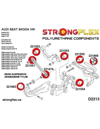 271696A: Front lower arm front bush SPORT