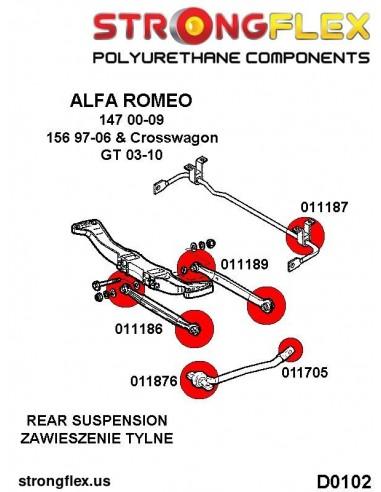 031716A: Rear beam mount bush SPORT