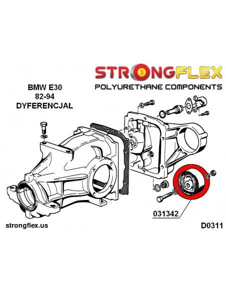 031718B: Rear diff mount - rear bush