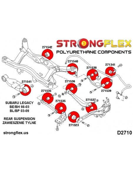 031736B: Rear diff mount - front bush
