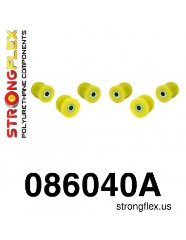 Zestaw poliuretanowy wahaczy tylnych dolnych SPORT, 086040A