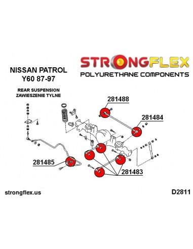 111858B: Front lower arm - front / rear bush