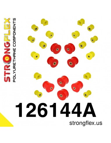 126144A: Full suspension bush kit SPORT