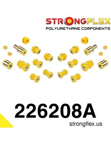 226208A: Rear suspension bush kit SPORT