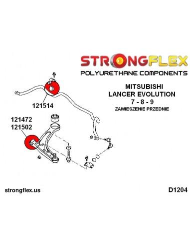 011658B: Rear lower inner swing arm bush