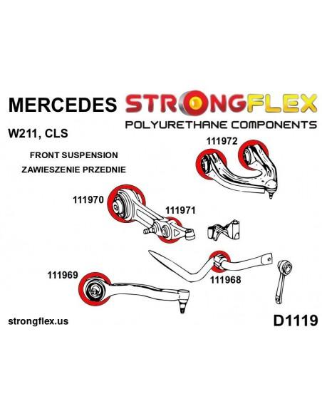 031926A: Front suspension - rear bush SPORT