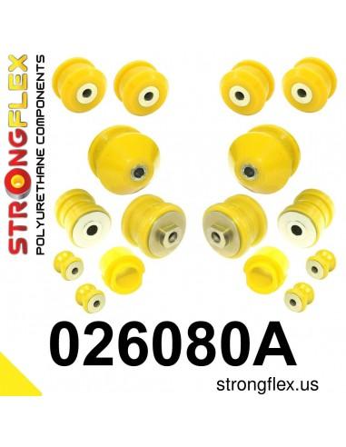 026080A: Front suspension bush kit SPORT