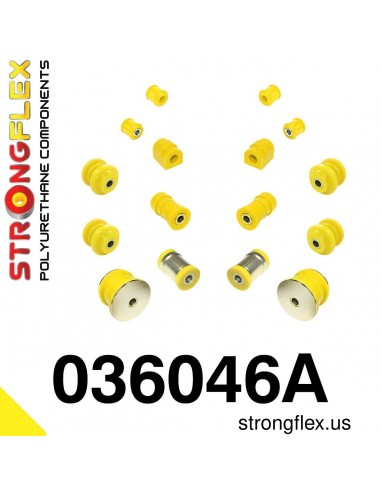 036046A: Rear suspension bush kit SPORT