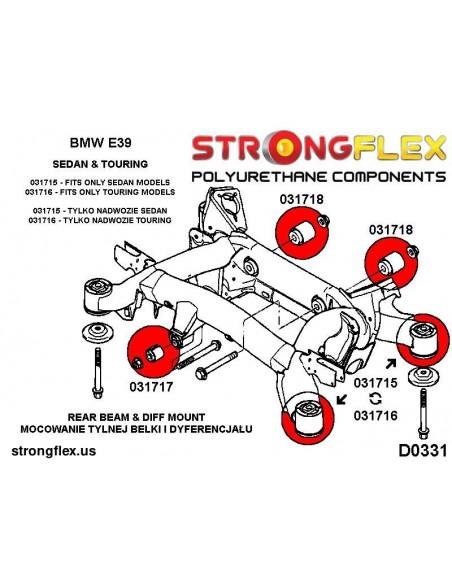 031942A: Rear subframe – rear bush SPORT