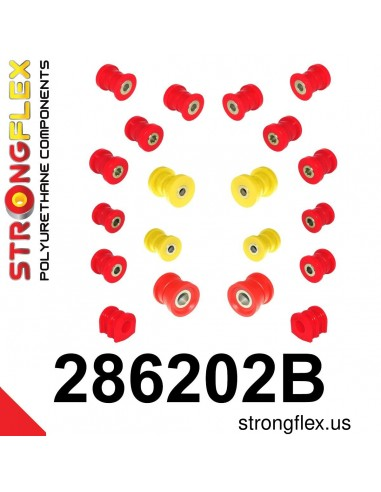 286202B: Rear suspension bush kit