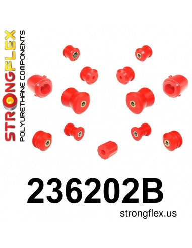236202B: Rear Suspension Bush Kit