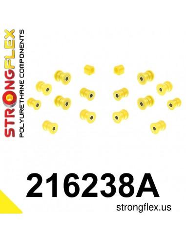 216238A: Rear suspension bush kit SPORT