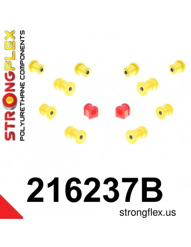 216237B: Front suspension bush kit
